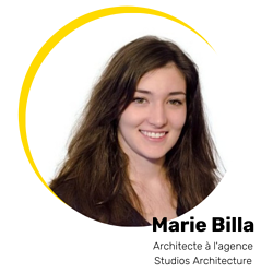 Marie Billa Architecte à lagence Studios Architecture