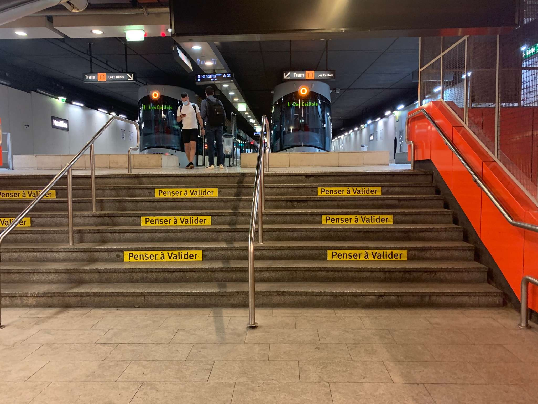 Evelity in the metro of Marseille with RTM